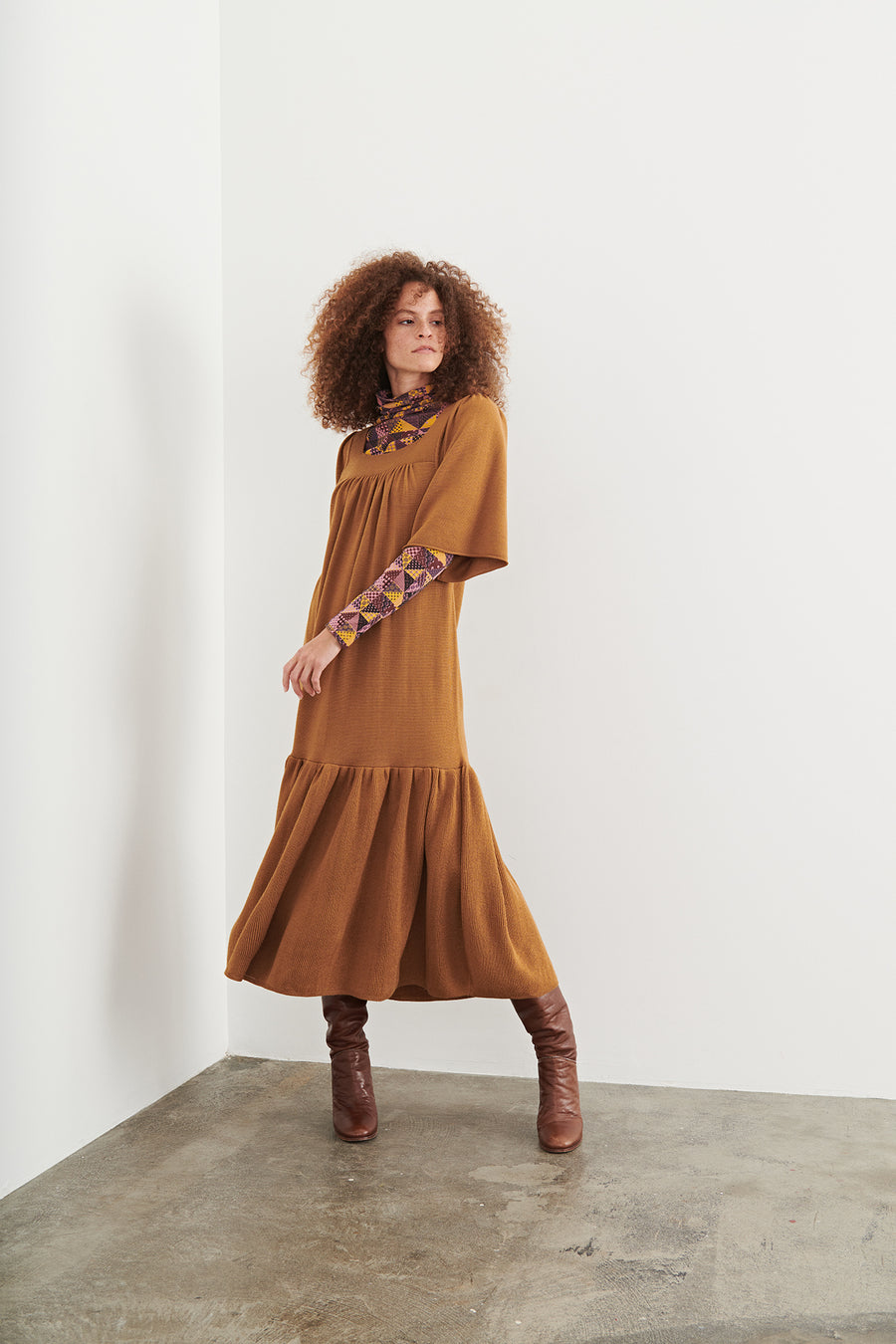 Adult Puff Sleeve Dress