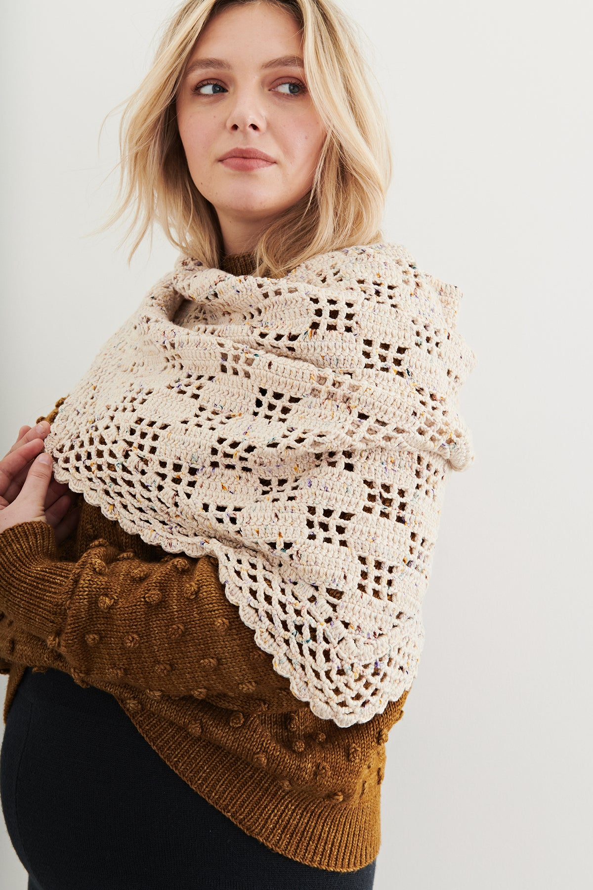 Adult Crochet Shawl