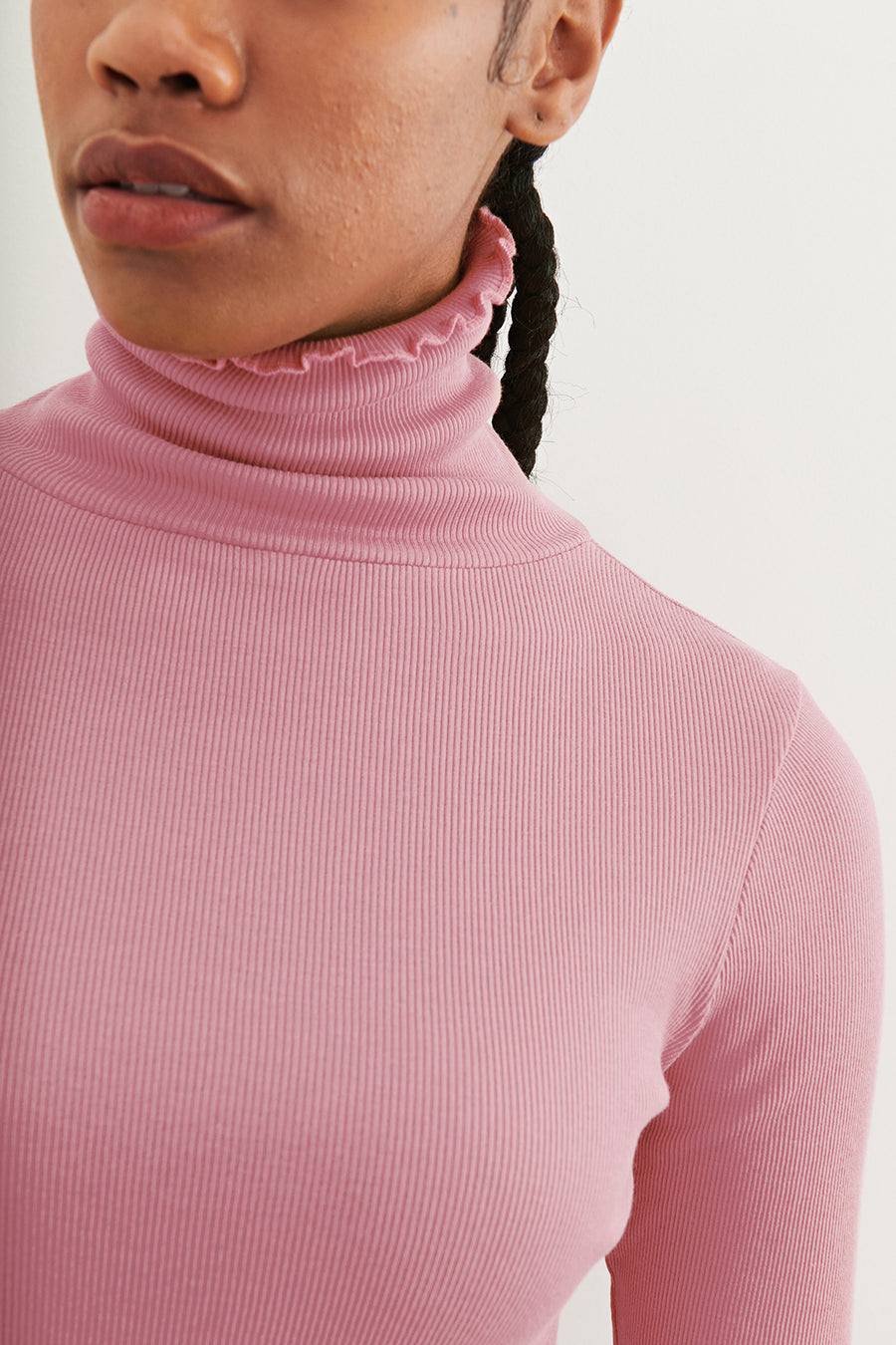 Adult Ribbed Turtleneck