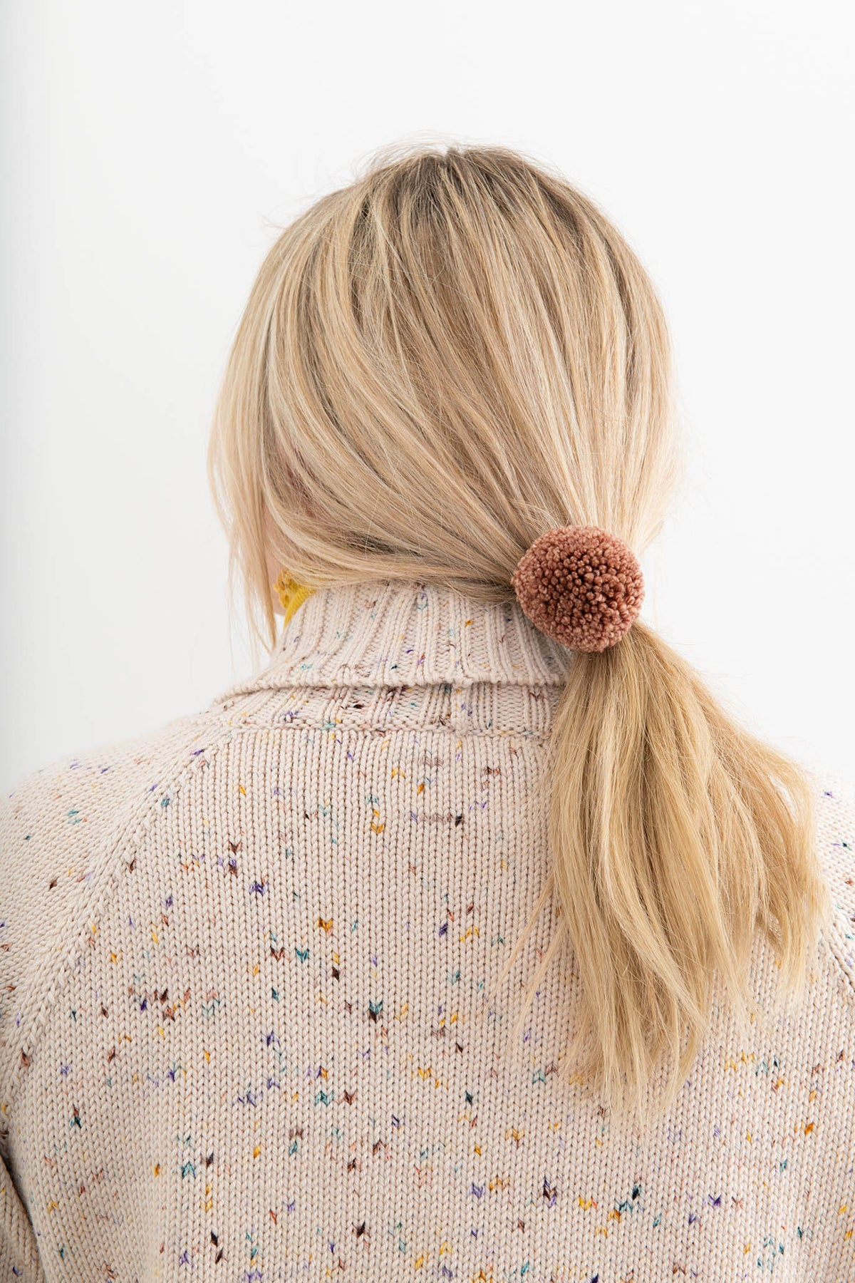 Adult Pom Pom Hair Tie