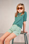 Elsa short sleeve sweater