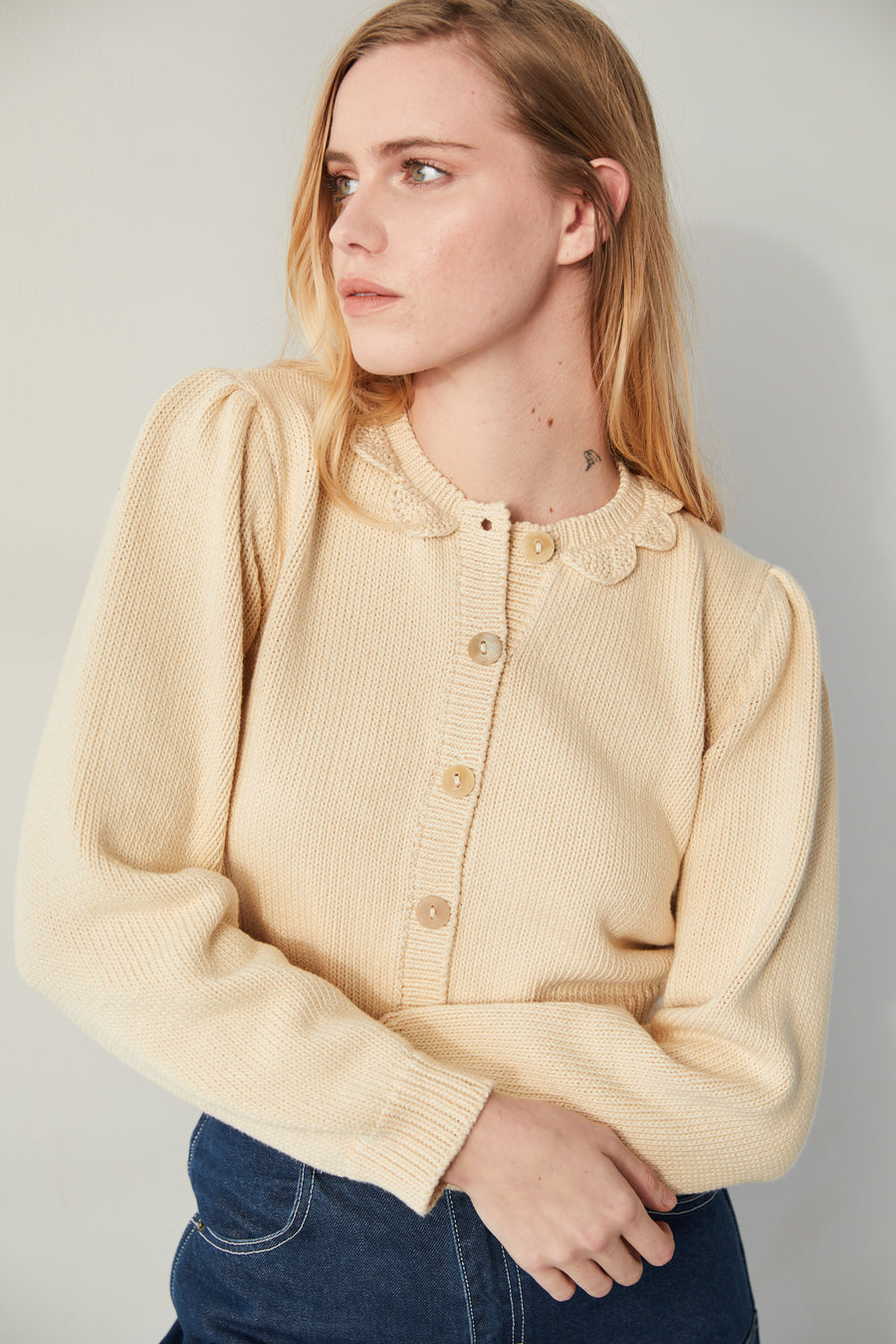 Adult Ellie Cardigan - Macadamia