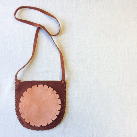 Scout Pouch - Rust/White