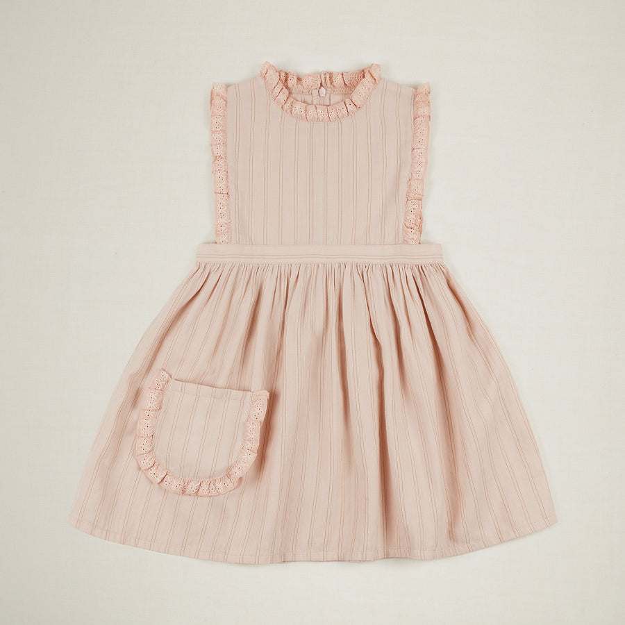 Ida Dress - Pink Tea Stripe
