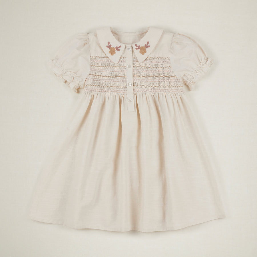 Minnie Dress - Ivory