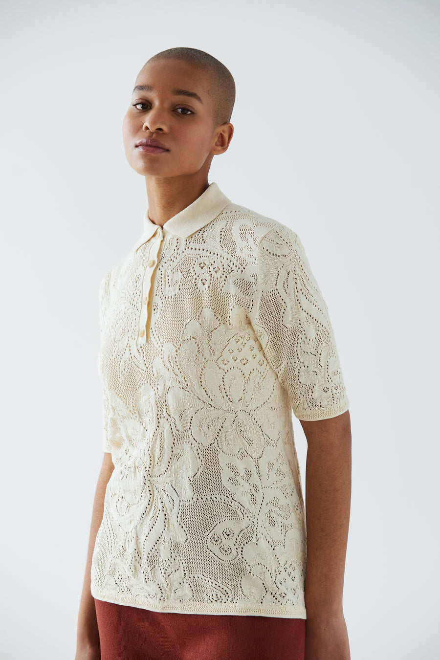 Adult Lace Polo - String