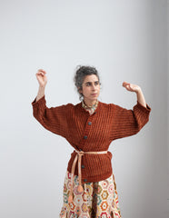 Adult Studio Cardigan / Terracotta
