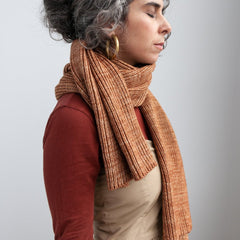 Adult Long Scarf / Rose Gold