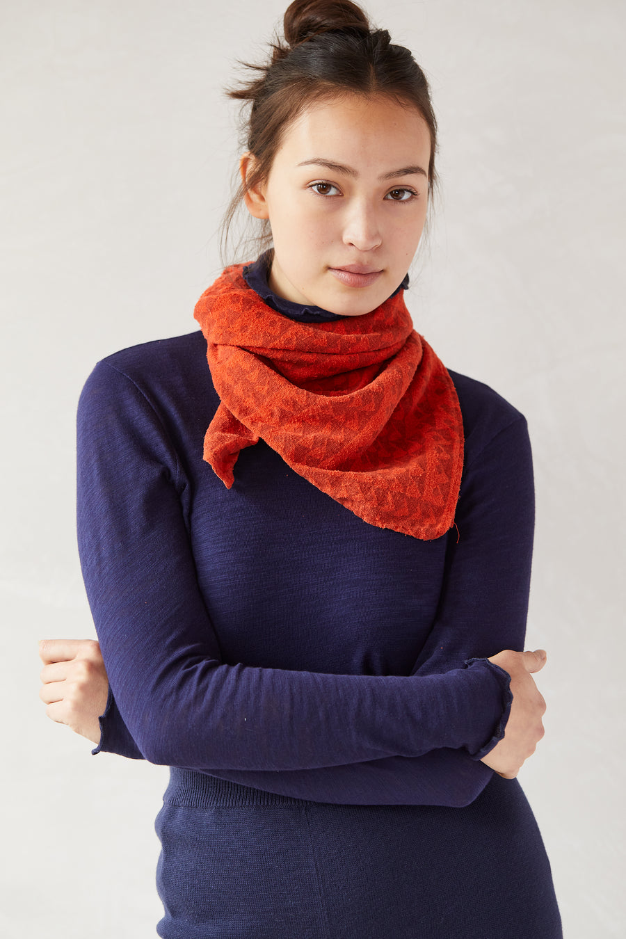 Over-Dyed Scarf