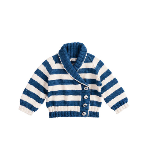Saltwater Stripe Cardigan