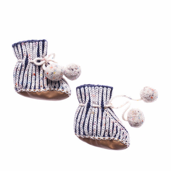 Scout Pompom Booties