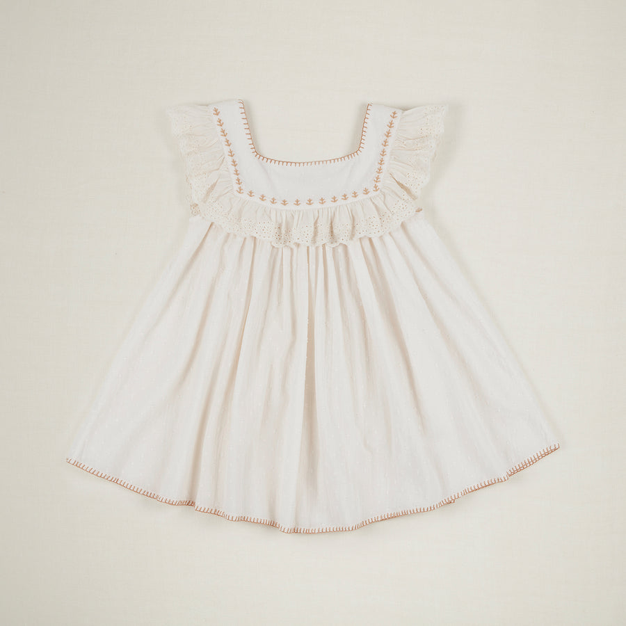 Tippi Dress - Ivory