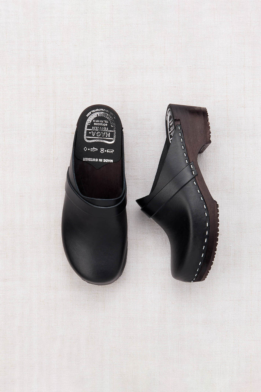Adult Leather Clogs