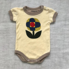 Flower Terry Onesie