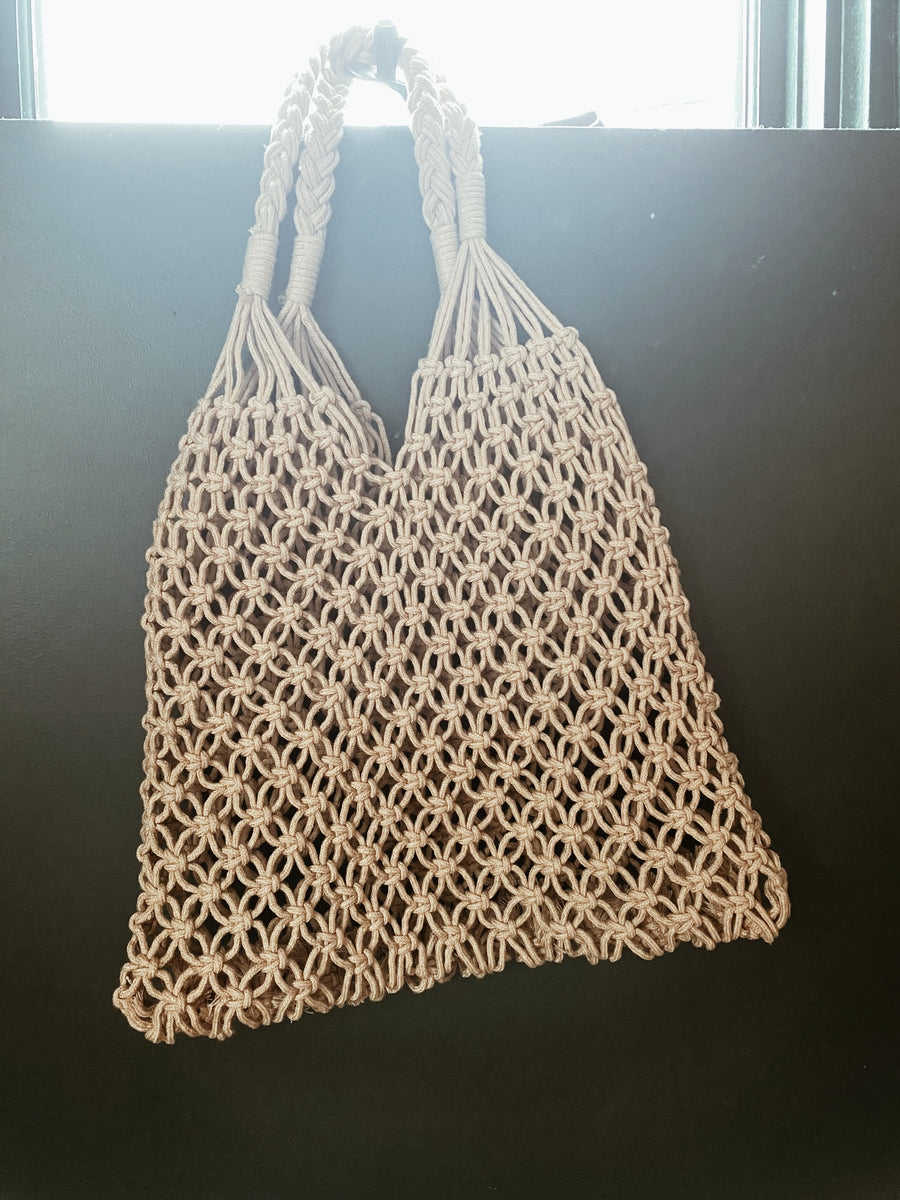 Hand Crochet Shopper