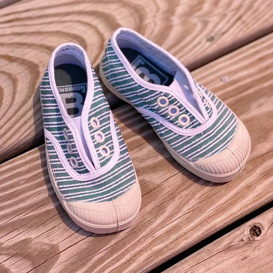 Striped Elly Slip On