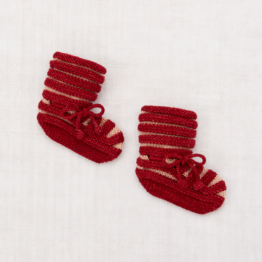 Accordion Pleat Booties