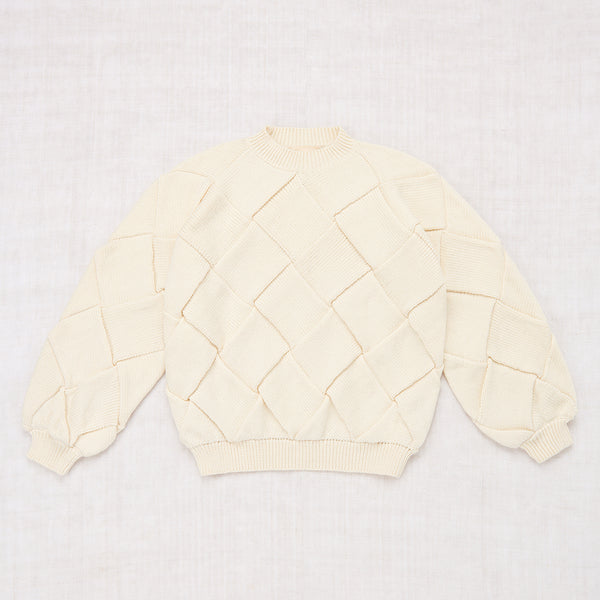 Adult Entrelac Sweater