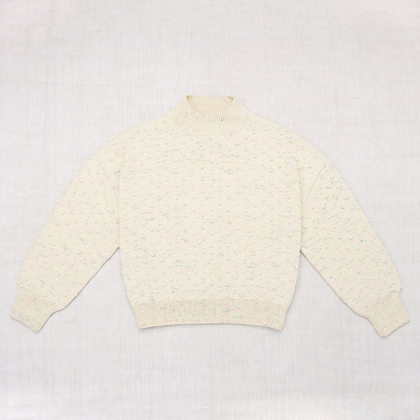 Adult Summer Popcorn Sweater / Pastel Confetti