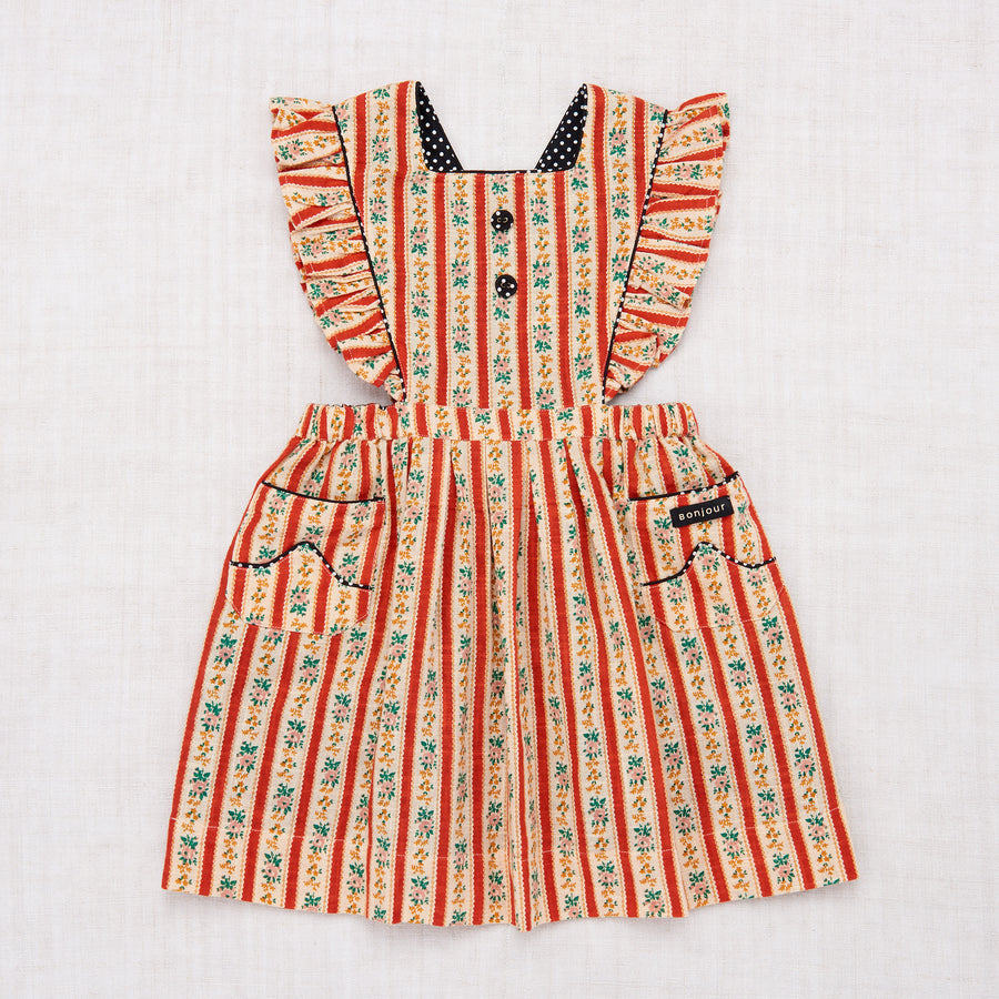 Apron Dress - Wallpaper Stripe