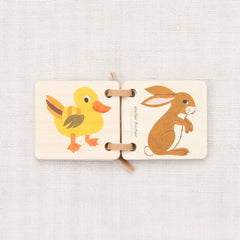 Wooden Picture Booklet