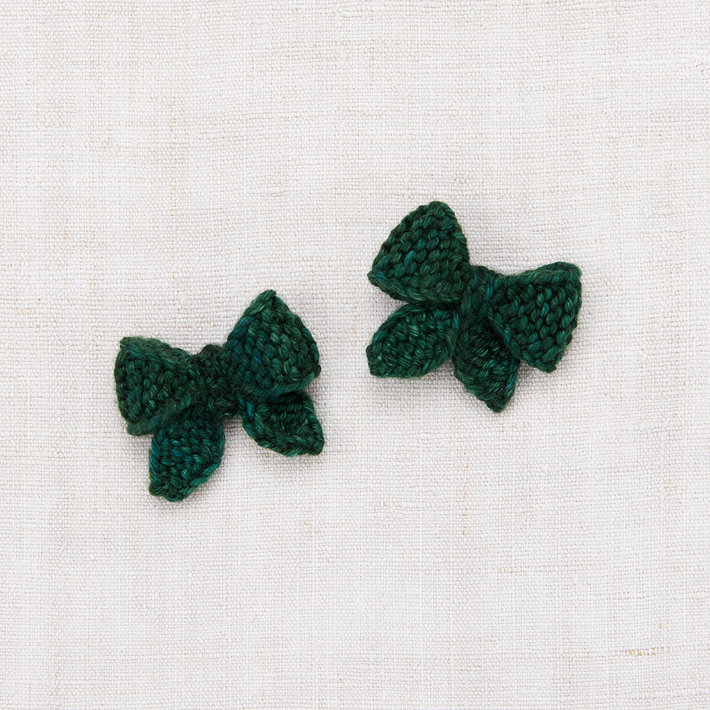 Baby Puff Bow Set - Laurel