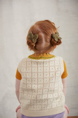 Baby Puff Bow Set - Moss