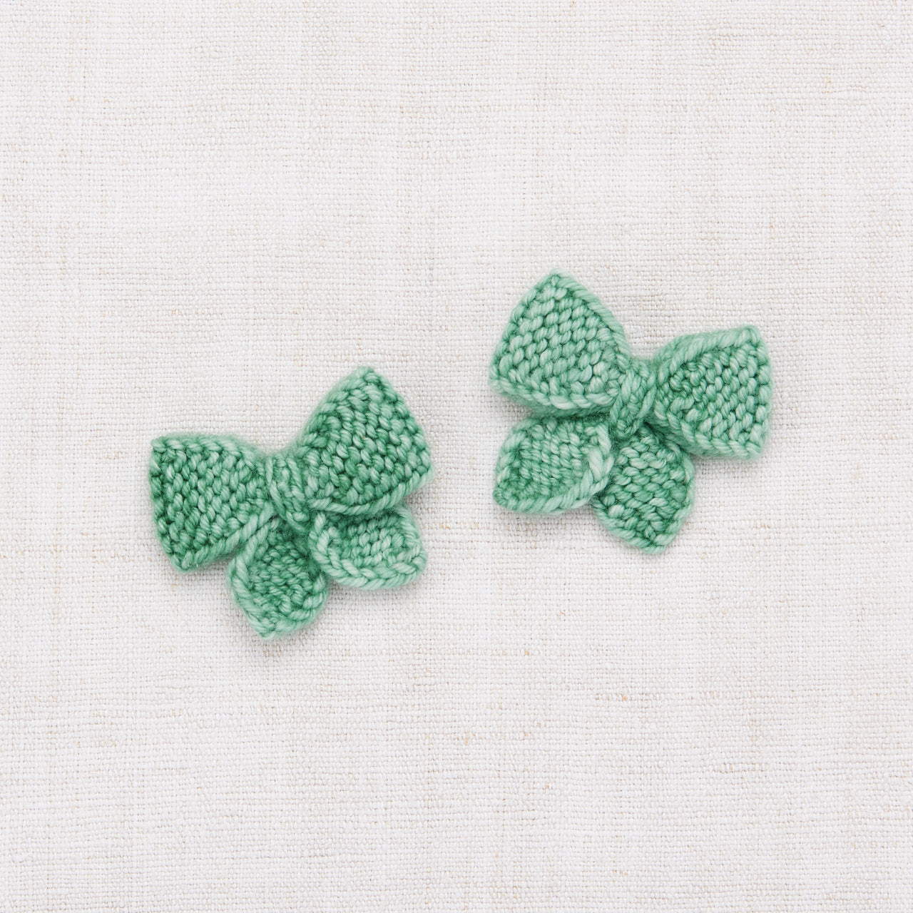 Baby Puff Bow Set