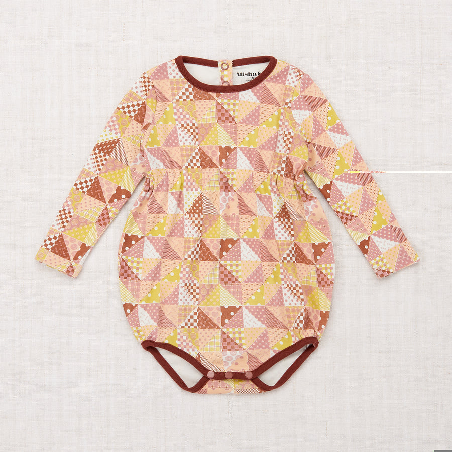 Patchwork Balloon Onesie