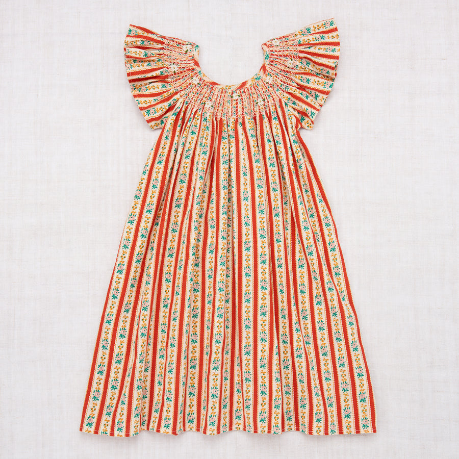 Butterfly Dress - Wallpaper Stripe