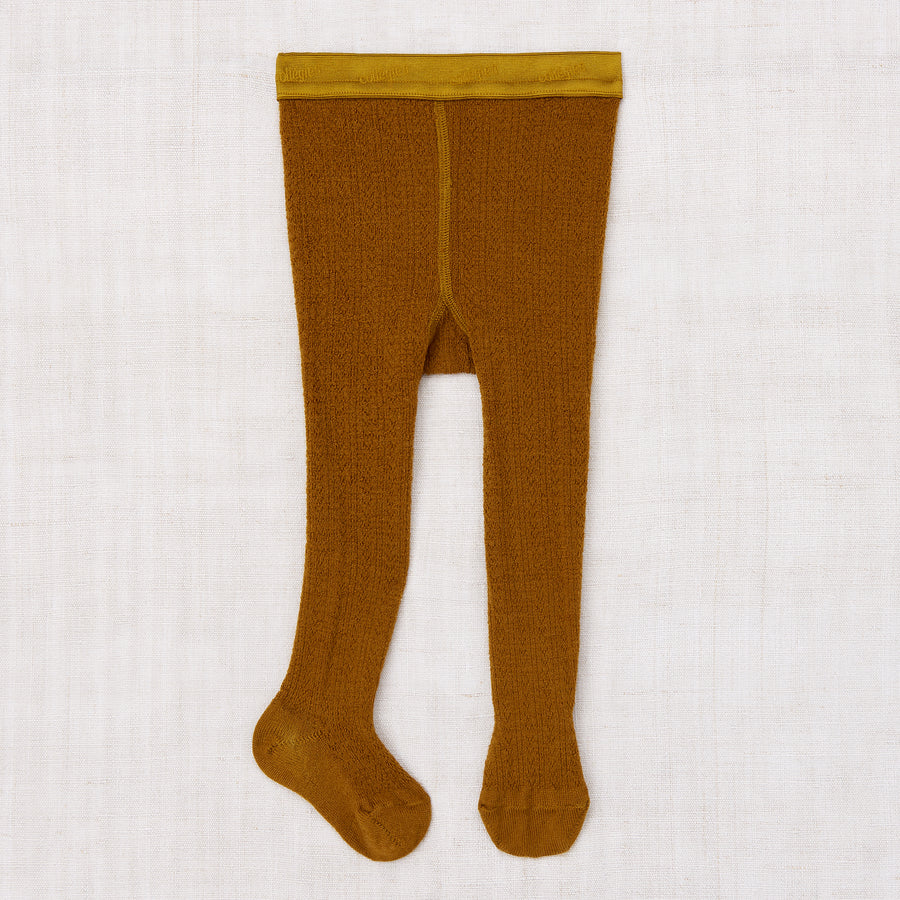 Pointelle Wool Tights