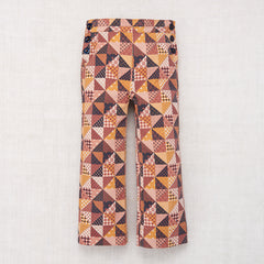 Printed Canvas Trouser