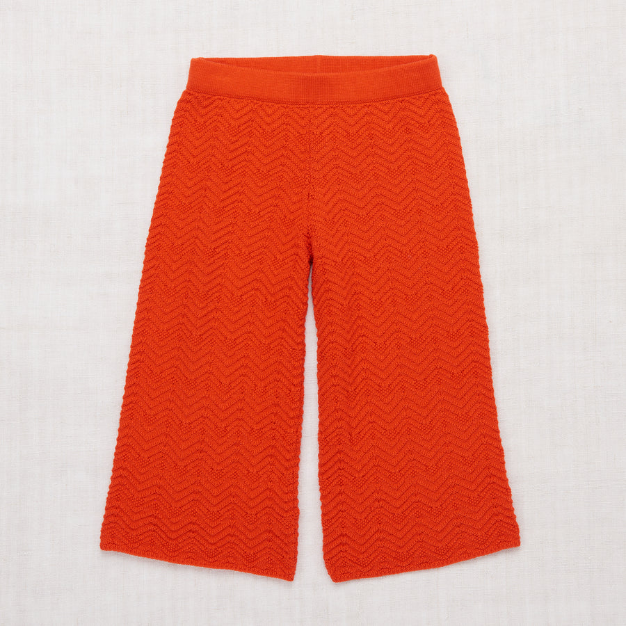 Chevron Pants - Crimson Red