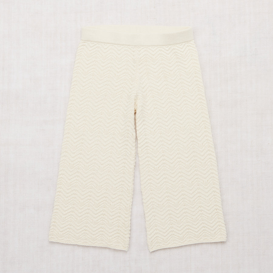 Chevron Pants - Vanilla