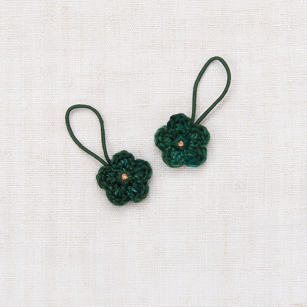 Crochet Flower Elastic Set - Laurel