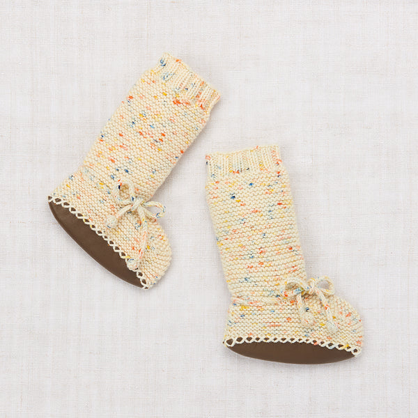 Tall Day Hike Booties - Primary Color Confetti