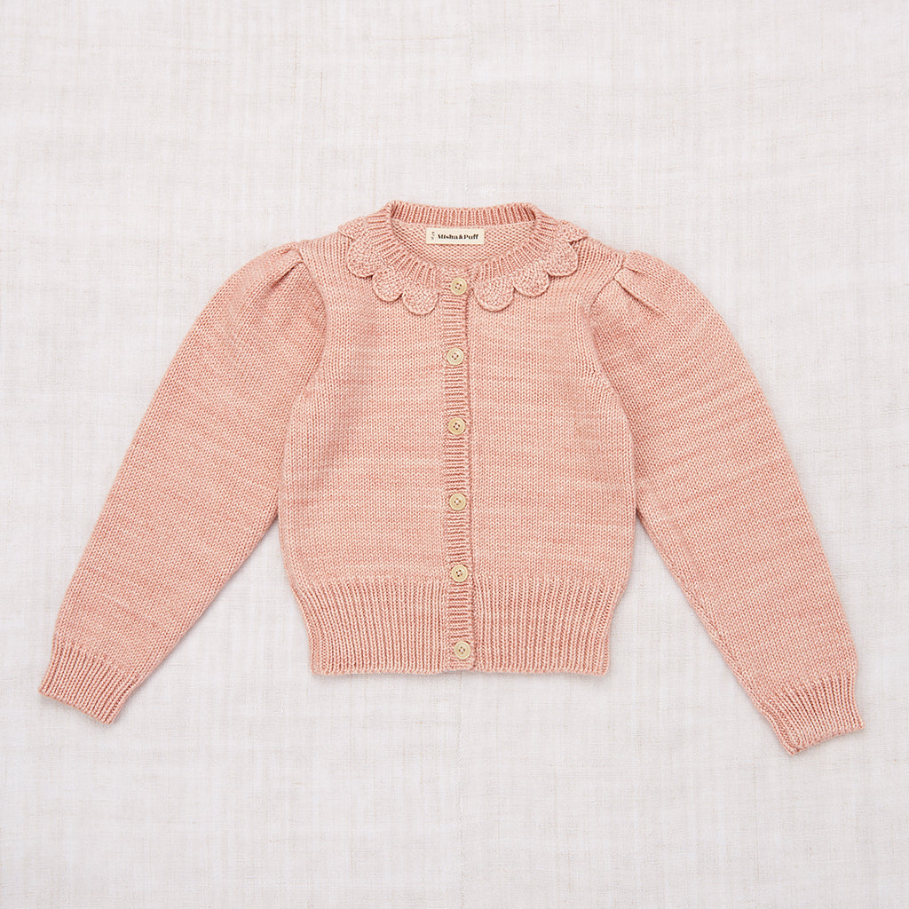 Ellie Cardigan - Faded Rose
