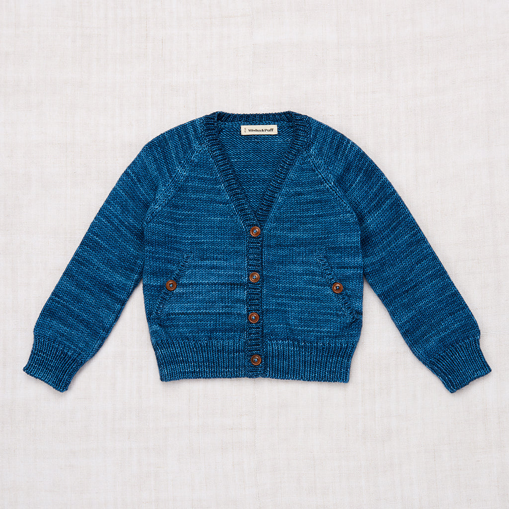 Everyday Cardigan - Blue Smoke
