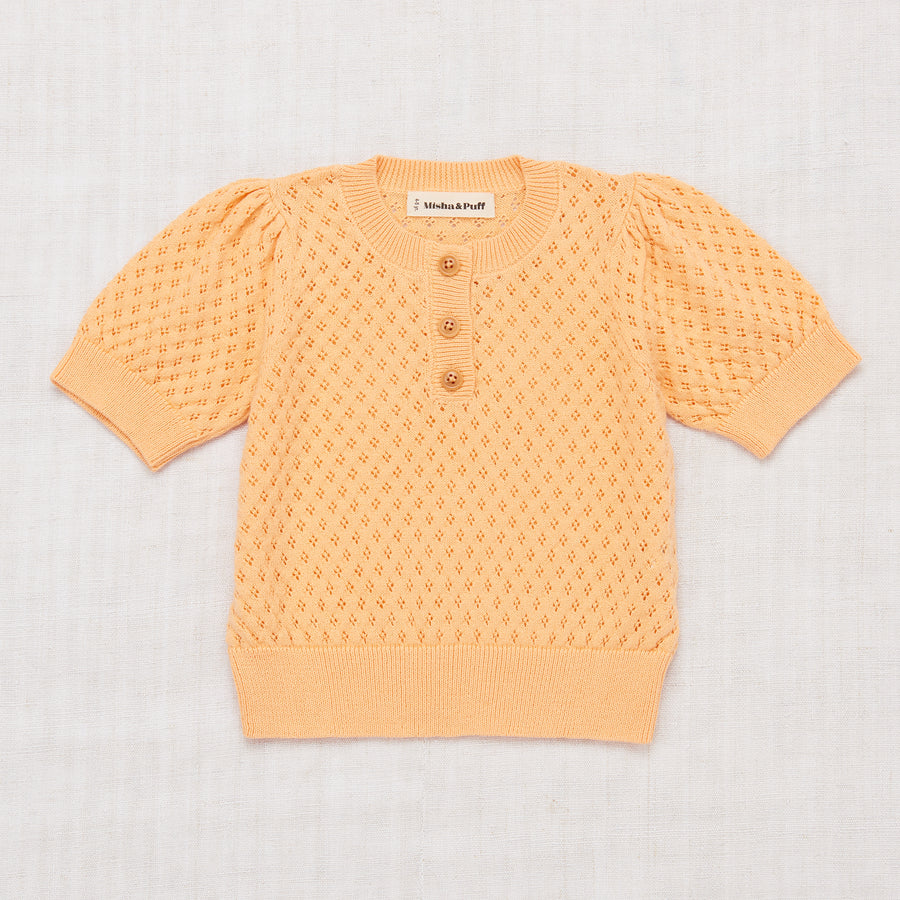 Eyelet Blouse - Peach