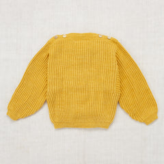 Fisherman Boatneck Pullover / Sunshine