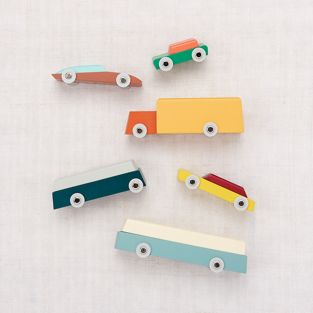 Wooden Toy Car Set