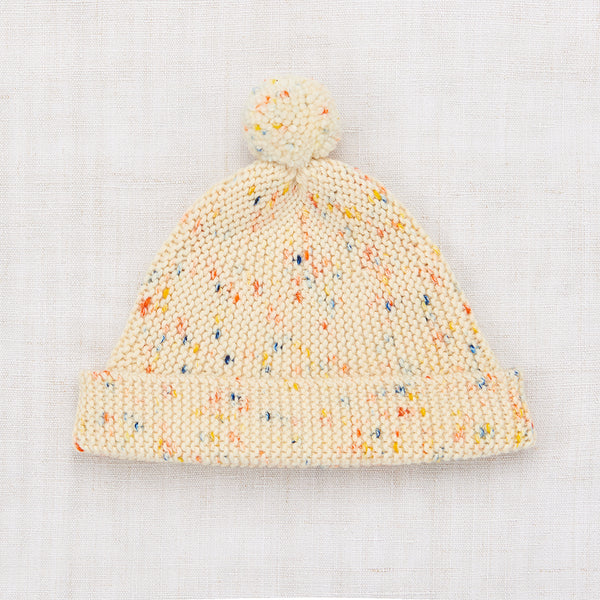 Garter Hat - Primary Color Confetti