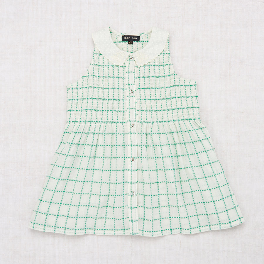 Ibiza Blouse - Green Check