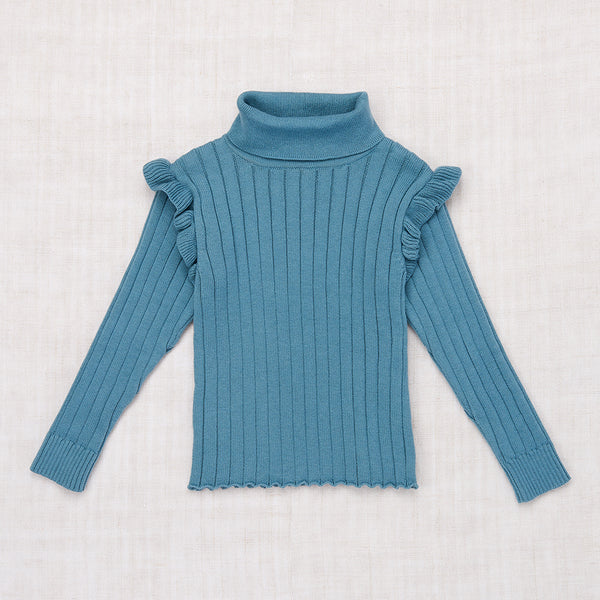 Ida Turtleneck - Blue Smoke