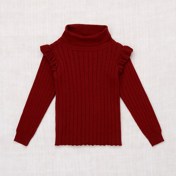Ida Turtleneck - Brick