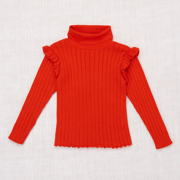 Ida Turtleneck - Hot Red
