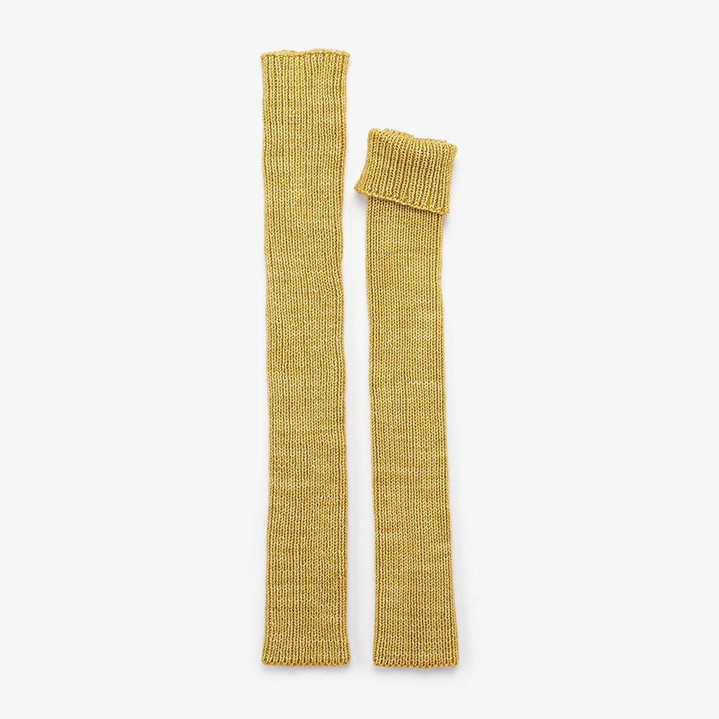 Over-the-knee Leg warmers  /  Winter Wheat