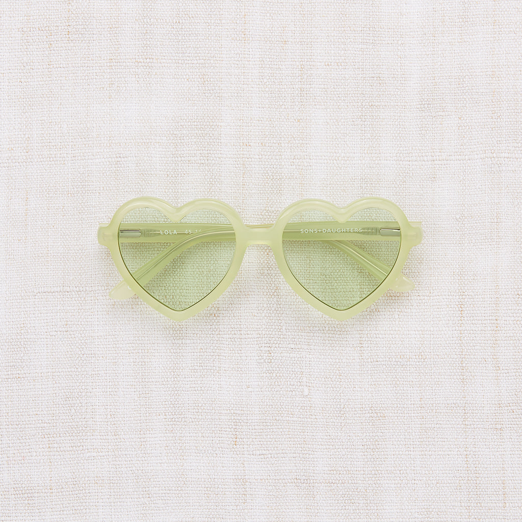 Lola Sunglasses - Margarita Green