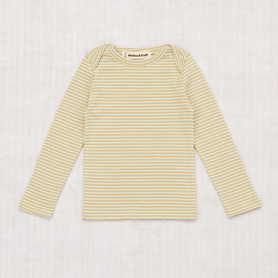 Layette Mini Stripe Lap Tee