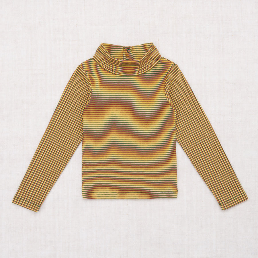 Mini Stripe Turtleneck
